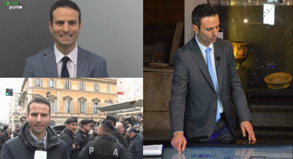 Luigi Garofalo giornalista - showreel 2015